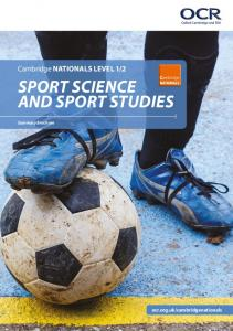 2 Sport Science and Sport Studies