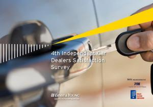 4th Independent Car Dealers Satisfaction Survey