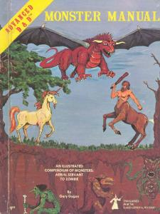 Advanced Dungeons & Dragons Monster Manual - Security System