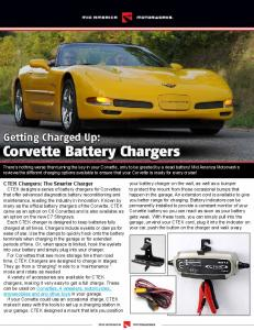 Corvette Battery Charger