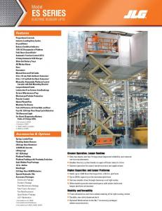 ELECTRIC SCISSOR LIFTS - apisupplyinc.com