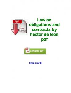 hector de leon - WordPress.com
