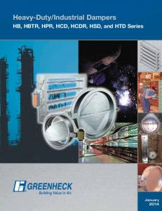 Industrial Dampers - Greenheck Fan