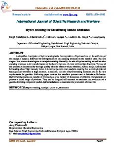 INTERNATIONAL JOURNAL OF SCIENTIFIC RESEARCH AND REVIEWS