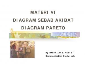 MATERI VI DIAGRAM SEBAB AKIBAT DIAGRAM PARETO