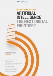 McKinsey - Artificial Intelligence, The Next Digital Frontier