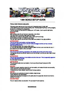 racing setup guide - Remote Control Cars Trucks Helis