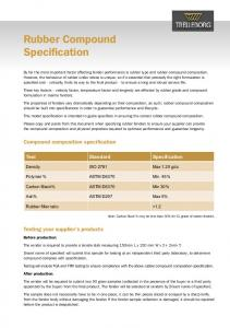 Rubber Compound Specification - Trelleborg AB