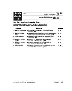 Study Perfect Your Score Score Guide Analyzing a Journal